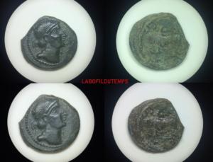 ofildutemps.com:restauration de monnaies:quadrans rèmes